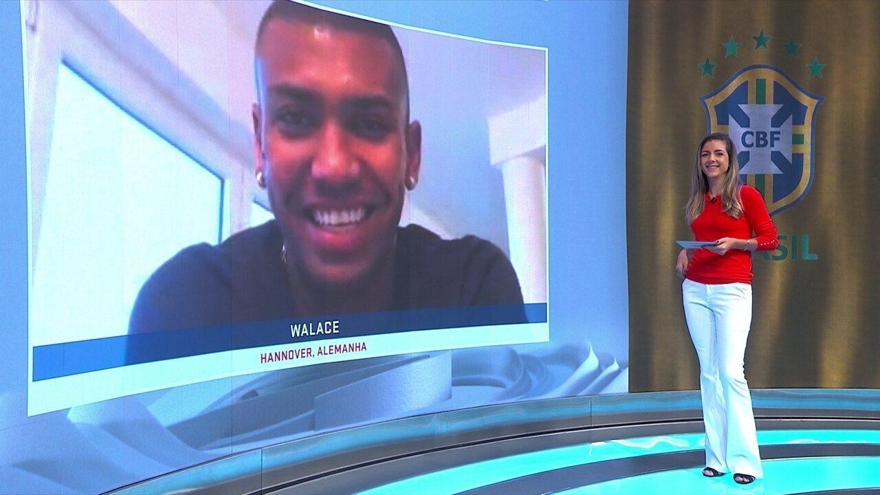 Walace fala sobre a convocação de Tite para a Seleção Brasileira