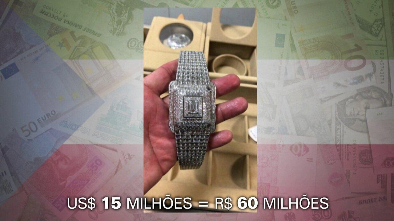 be178b708fc Como funciona o  testador de diamante  usado na apreensão de bens de ...