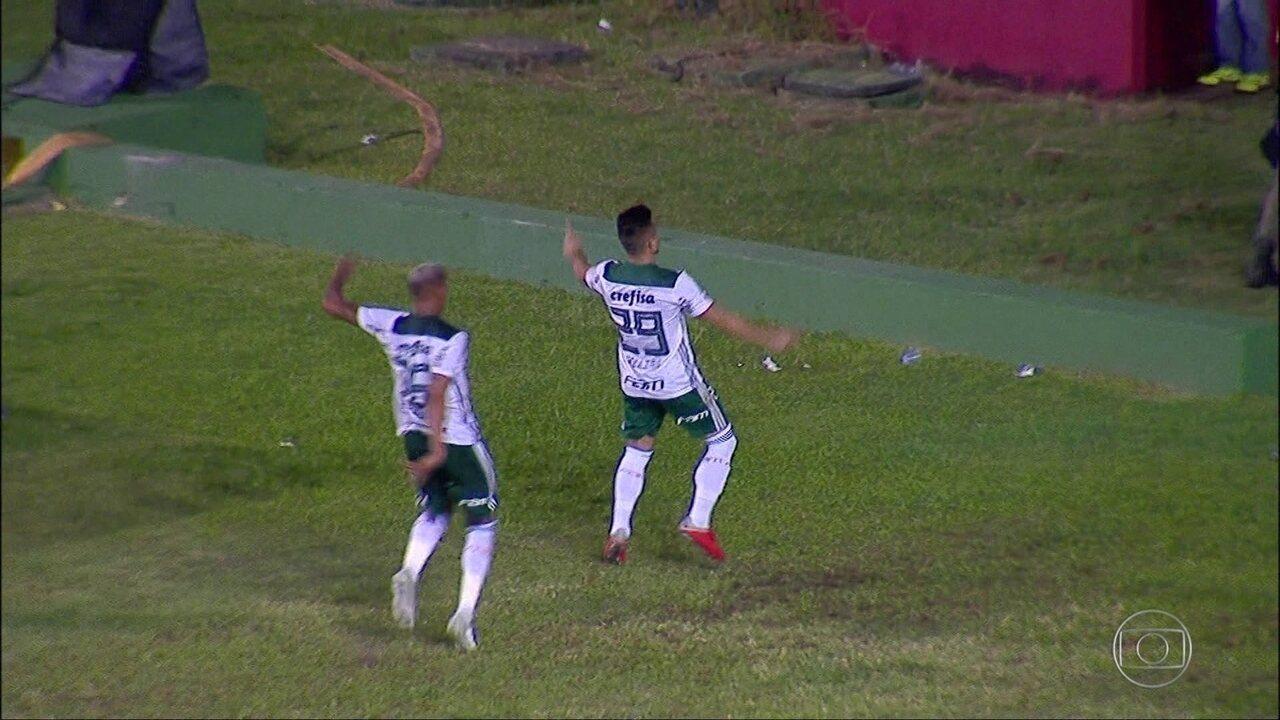 Gols do Fantástico: Palmeiras vence e assume a vice-liderança do Brasileirão