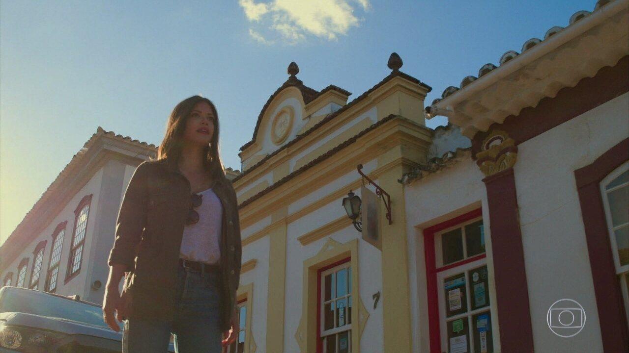 Cris chega a Rosa Branca e afirma já ter vivido na cidade