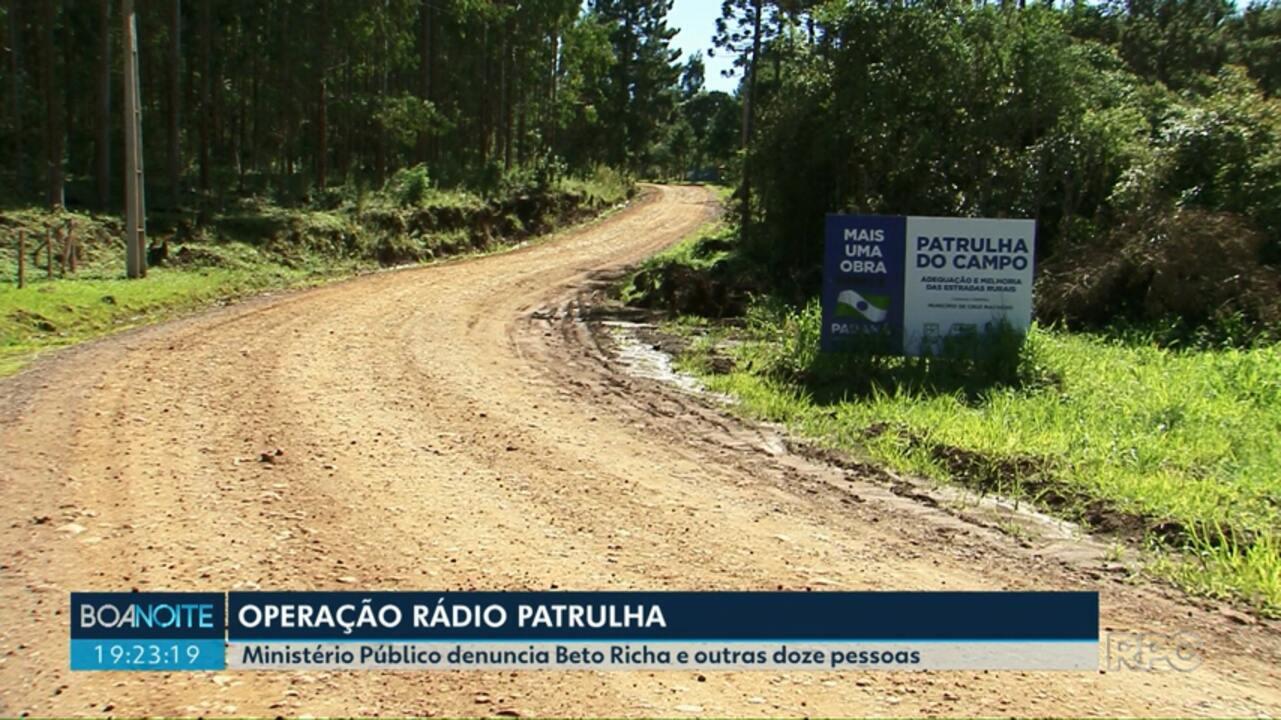 MP denuncia Beto Richa por crimes de corrupção e fraude a licitação