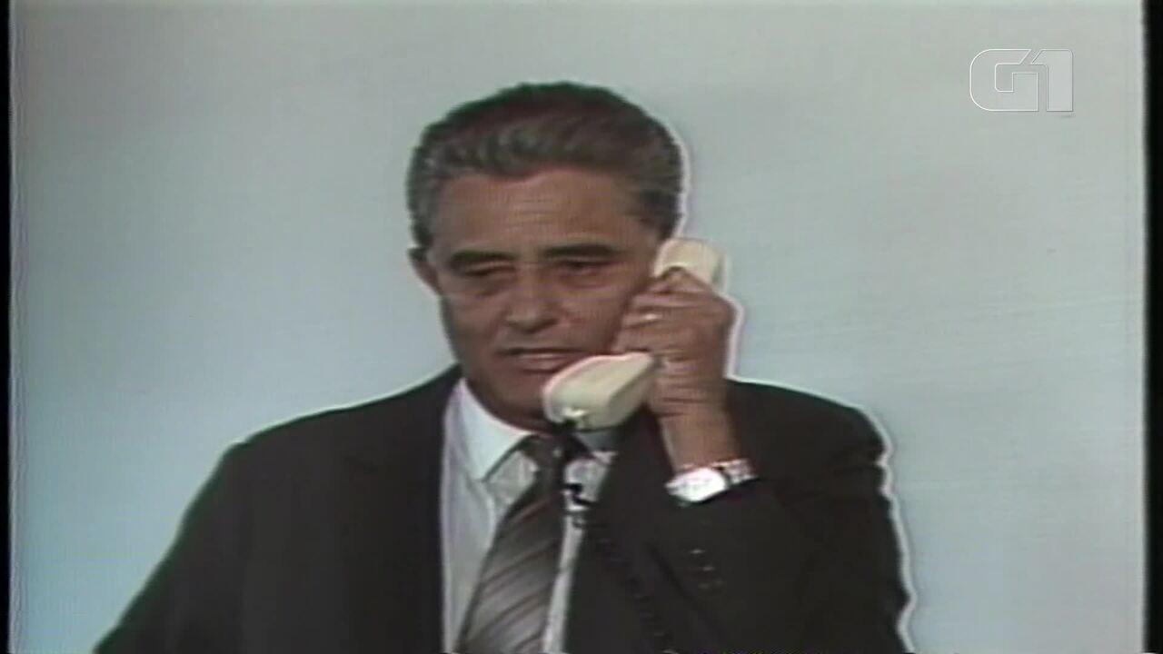 Arquivo: Joaquim Roriz é convidado por José Sarney, em 1988, para ser governador de Brasília