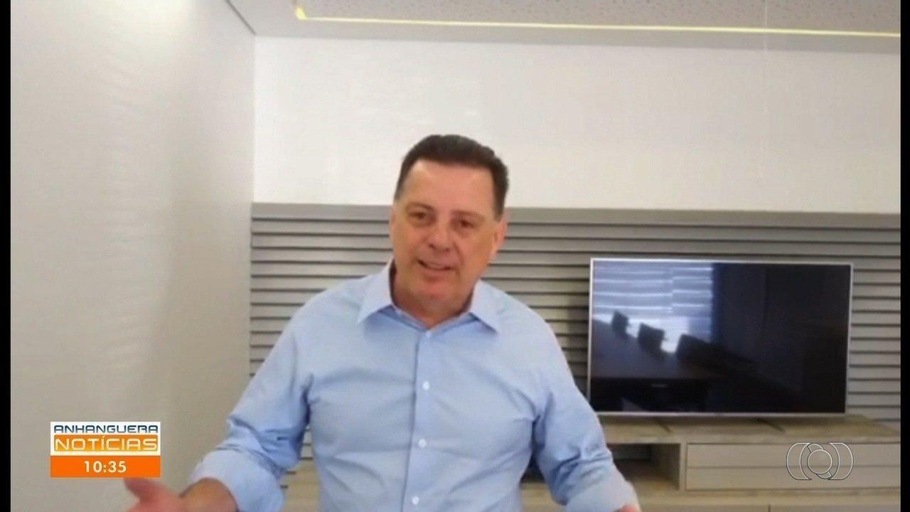 Após PF deflagrar operação, Marconi Perillo diz em vídeo que assunto é 'requentado'