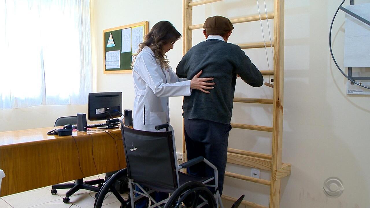 Lar de idosos de Passo Fundo recebe equipamentos de fisioterapia