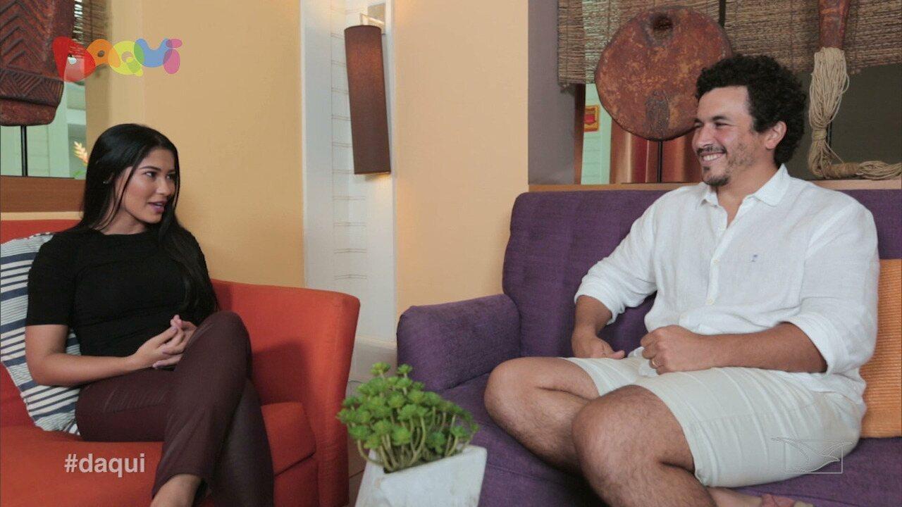 No Daqui, Breno Nina bate um papo com Thay no Kiiiiu