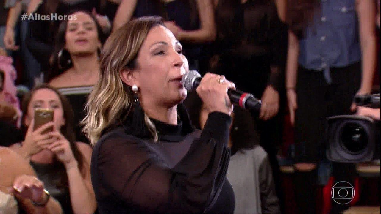 Valesca Popozuda canta 'Beijinho no Ombro'