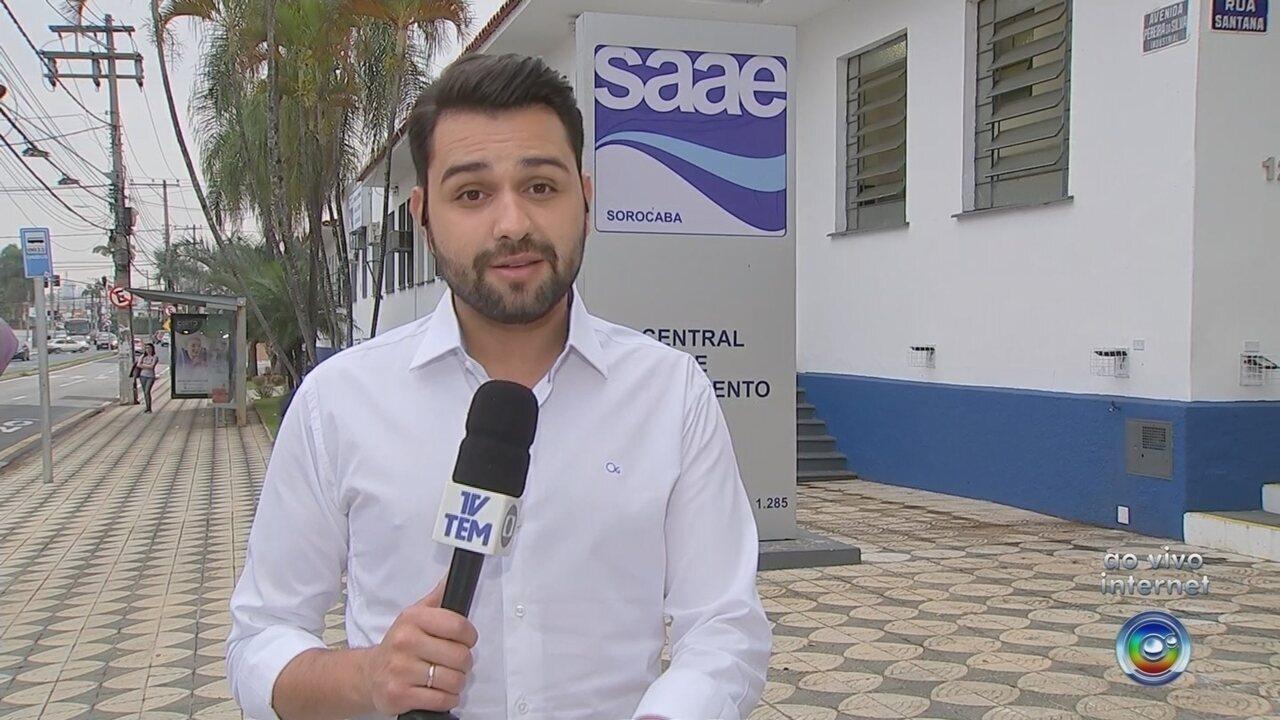 Valor da conta de água vai ficar mais caro em Sorocaba