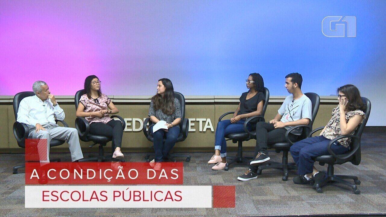Debate Eleitores: a condição das escolas públicas