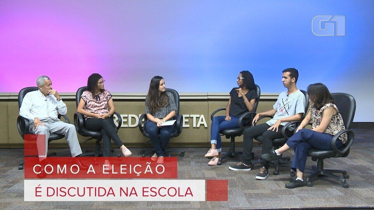 Debate Eleitores: como as eleições são discutidas na escola