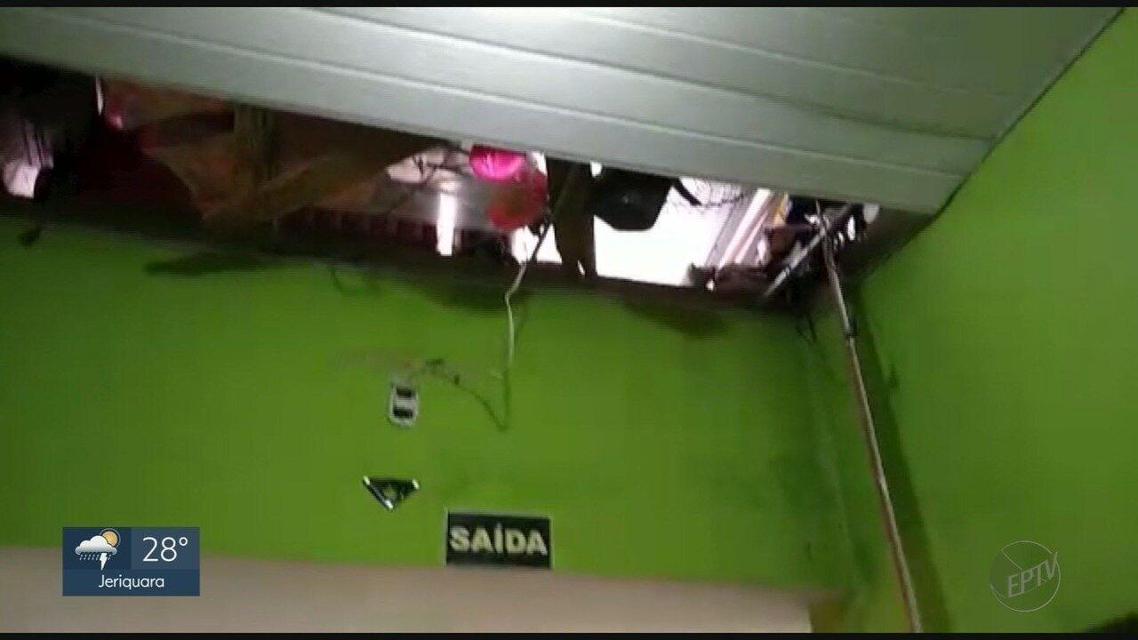 Creche é furtada e 140 crianças ficam sem aula em Taquaritinga, SP
