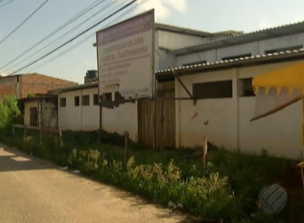 População cobra retomada das obras da Unidade de Saúde do Castanheira