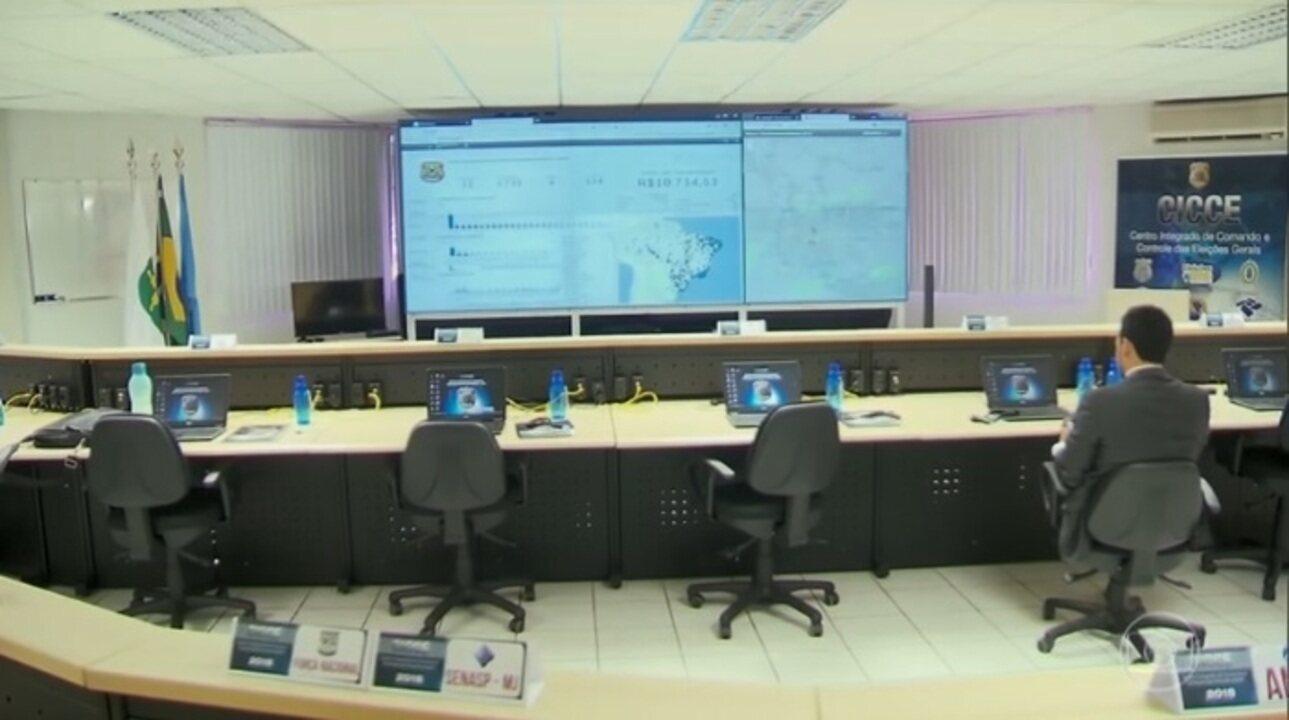 Centro da Polícia Federal que vai apurar crimes eleitorais começa a funcionar em Brasília