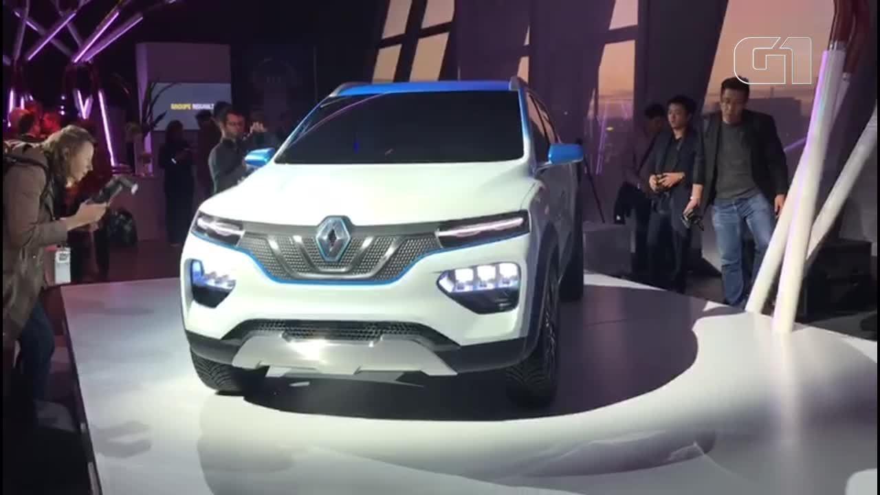 Renault revela elétrico baseado no Kwid