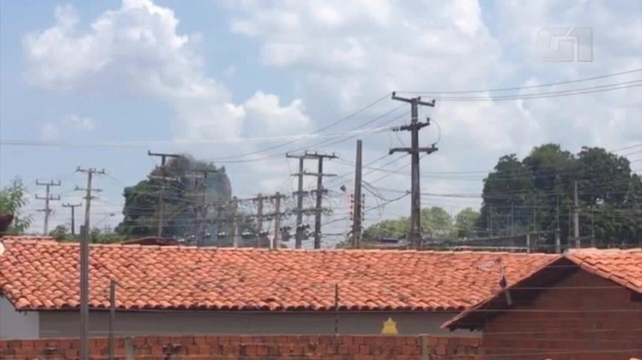 Subestação da Macaúba é atingida e bairros ficam sem energia