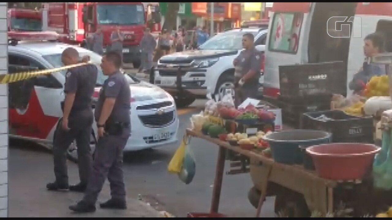 Jovem causa confusão em açougue na Vila Padre Anchieta em Campinas