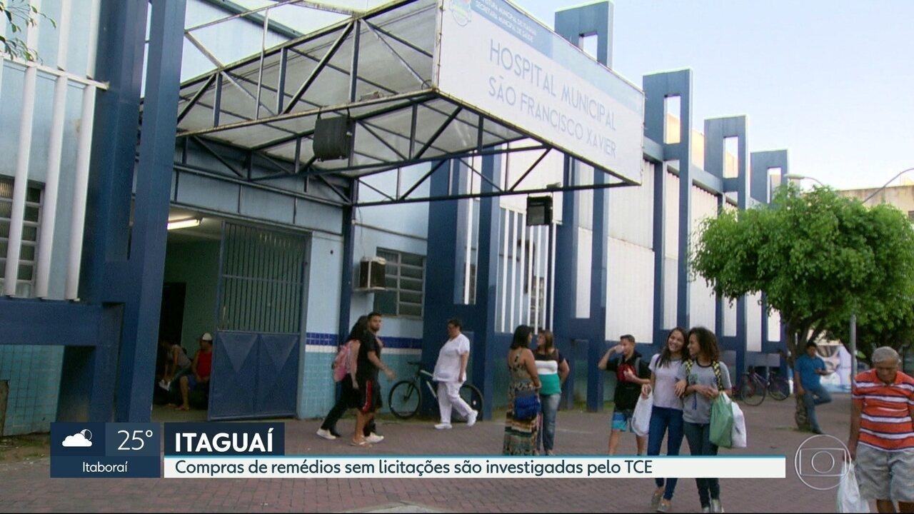 TCE investiga compras milionárias de remédios sem licitações pela prefeitura de Itaguaí