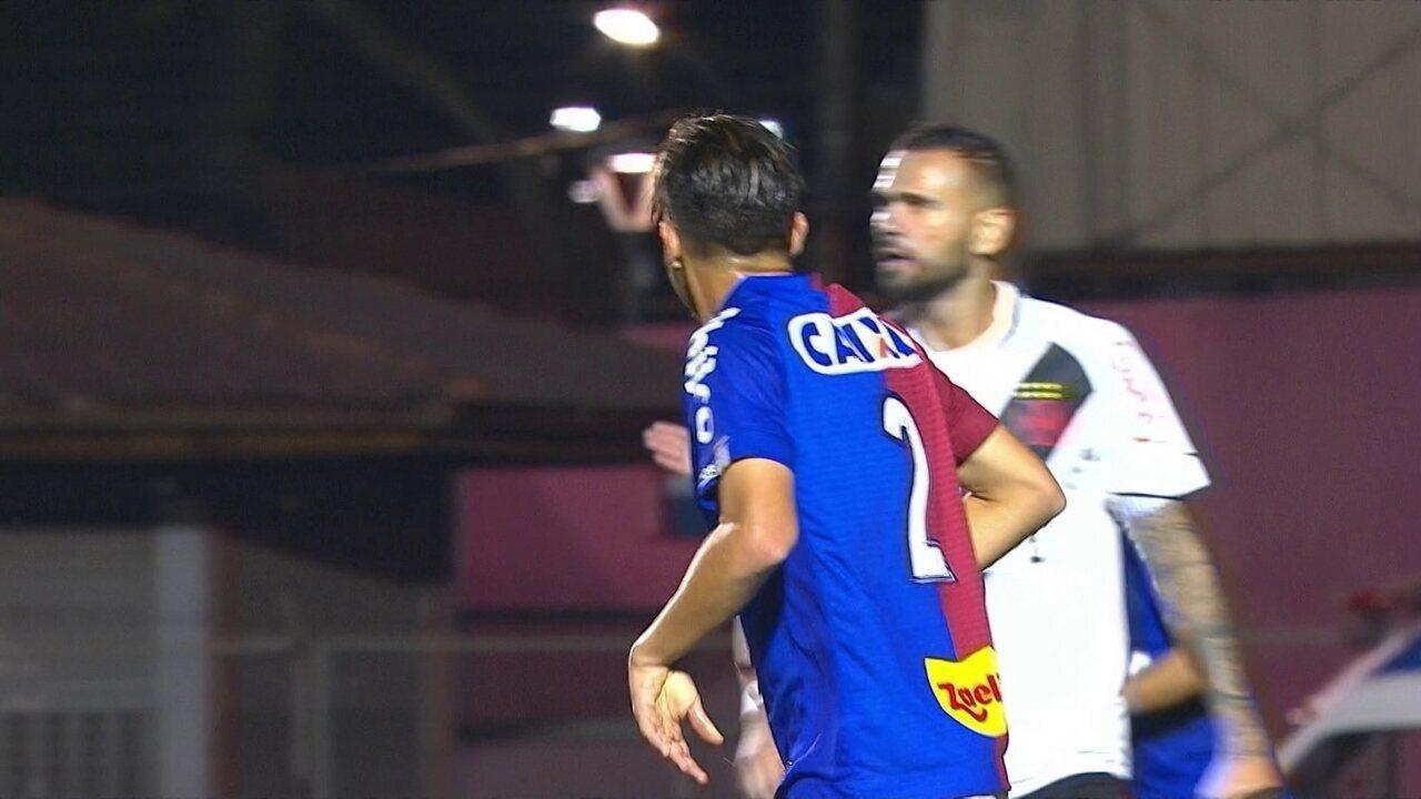 09665b87a3 Melhores momentos  Paraná 1 x 1 Vasco pela 27ª rodada do Brasileirão 2018