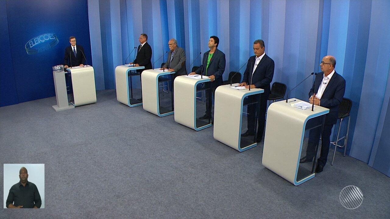 Debate entre os candidatos ao governo da Bahia - bloco 2