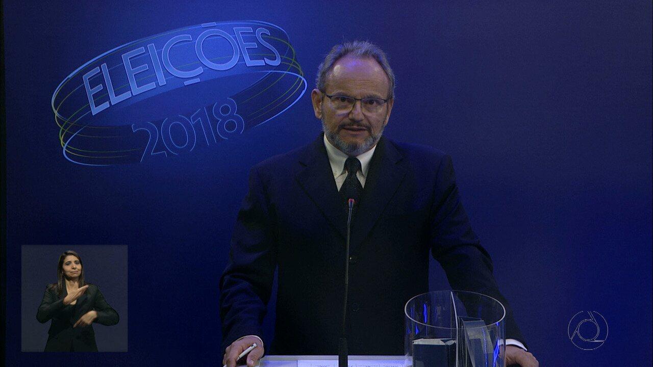 Debate para governador na Paraíba: 3º bloco