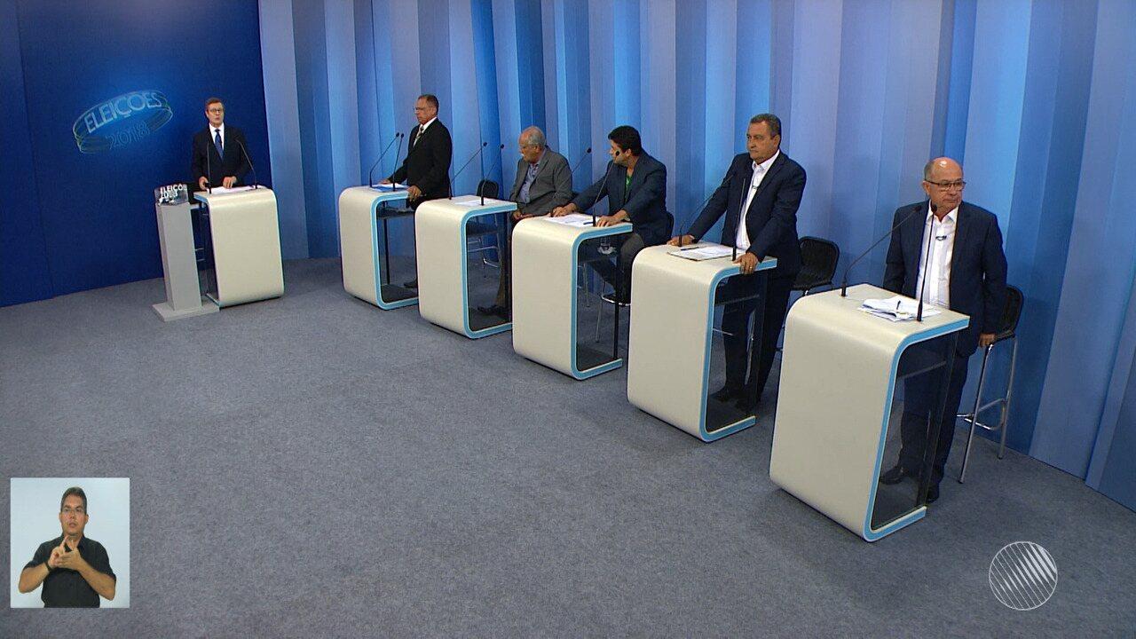 Debate entre os candidatos ao governo da Bahia - bloco 3