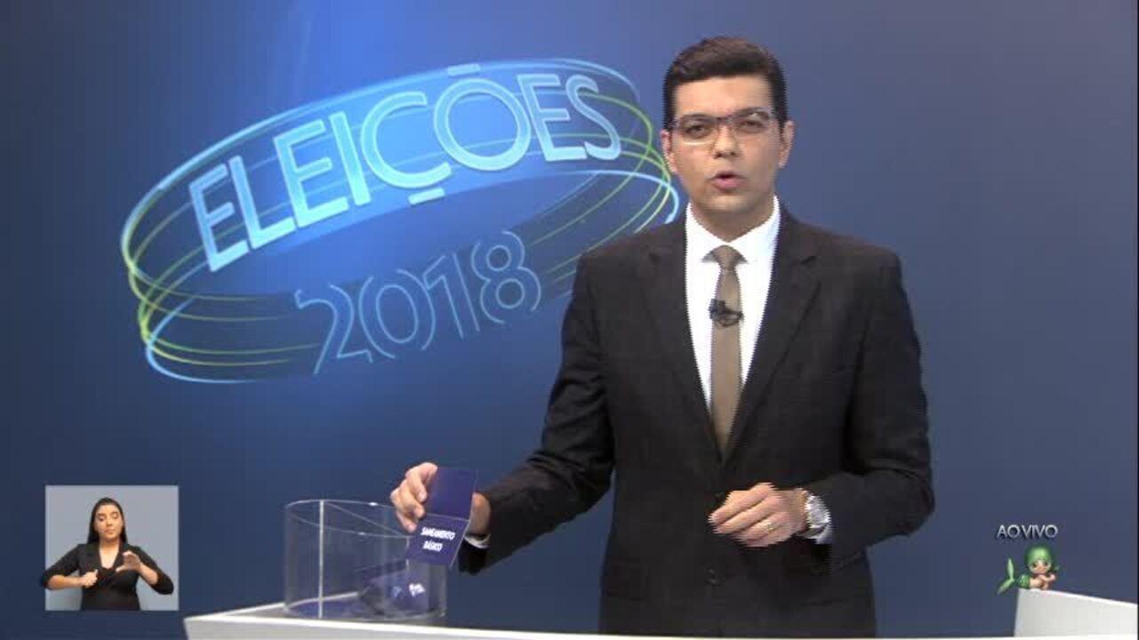 Debate dos candidatos ao Governo do Ceará - 2º bloco
