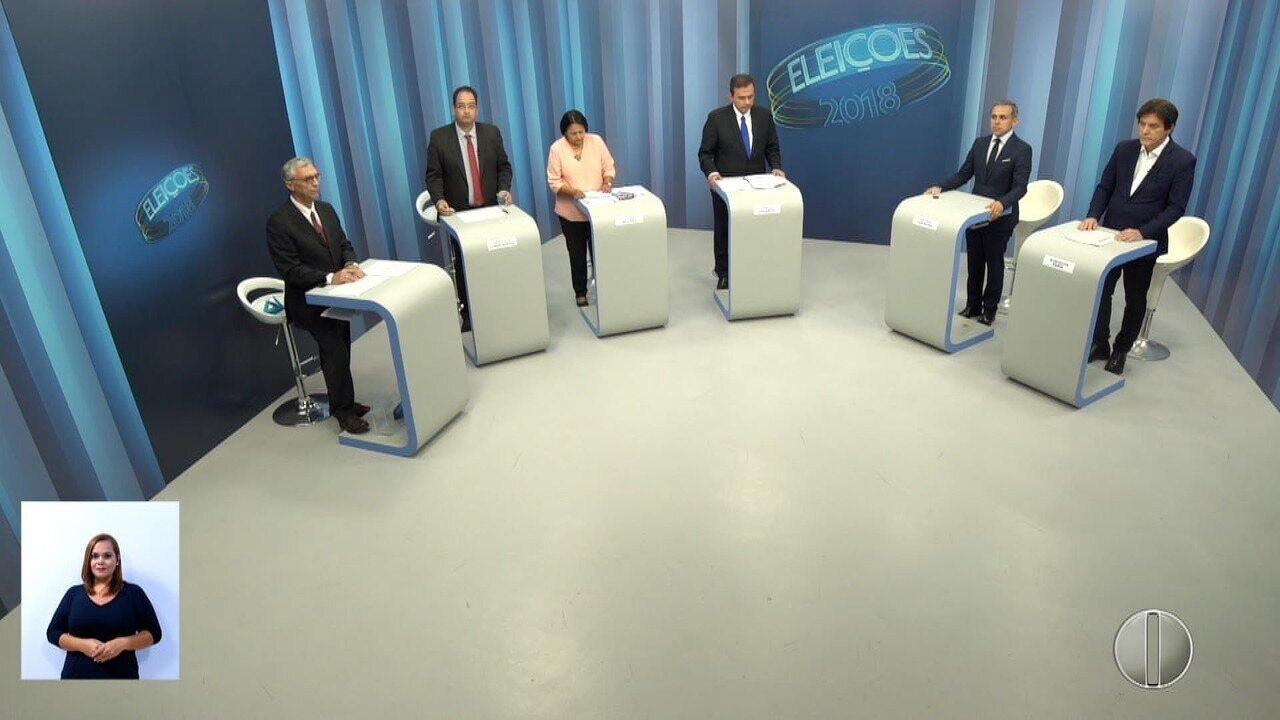 Debate dos candidatos ao governo do RN - Bloco 3