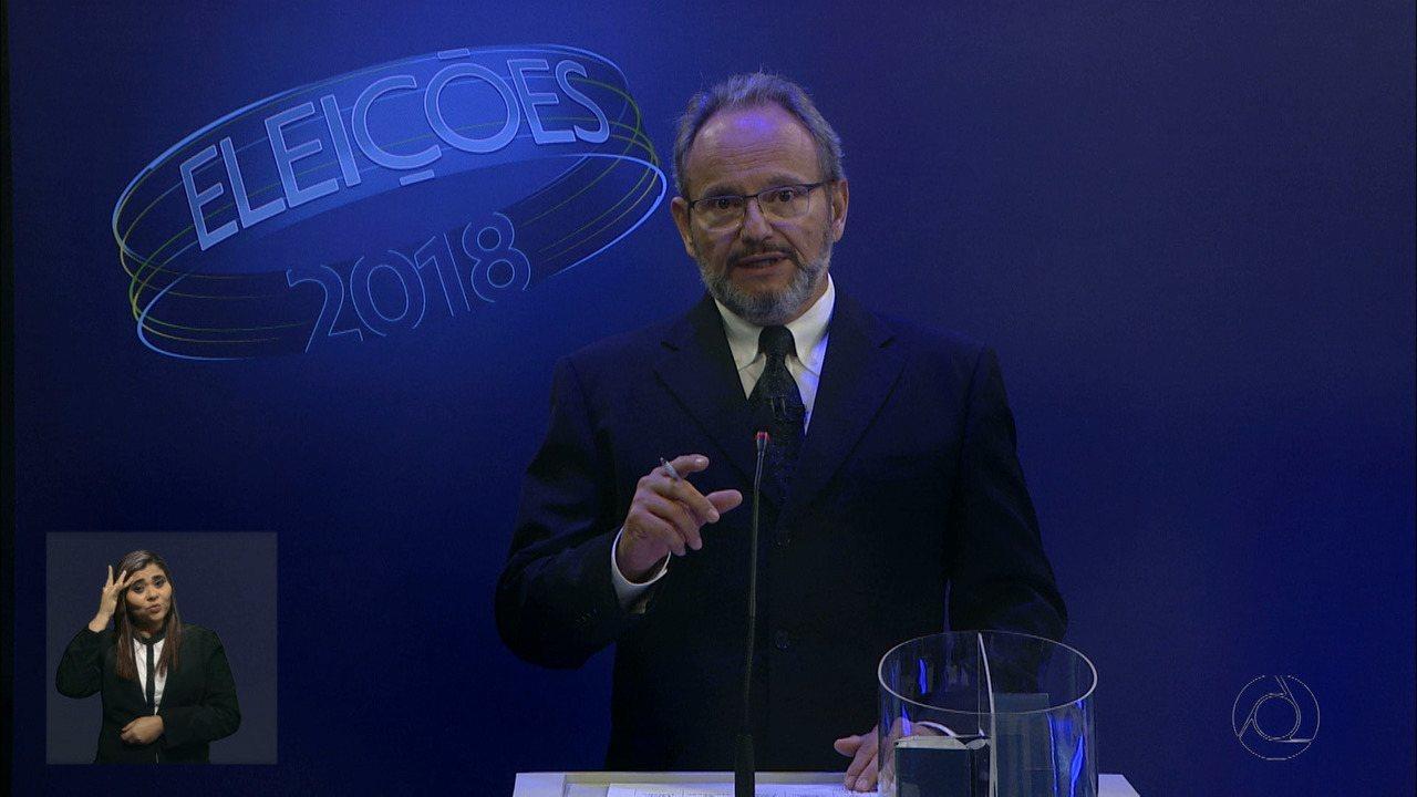 Debate para governador na Paraíba: 4º bloco