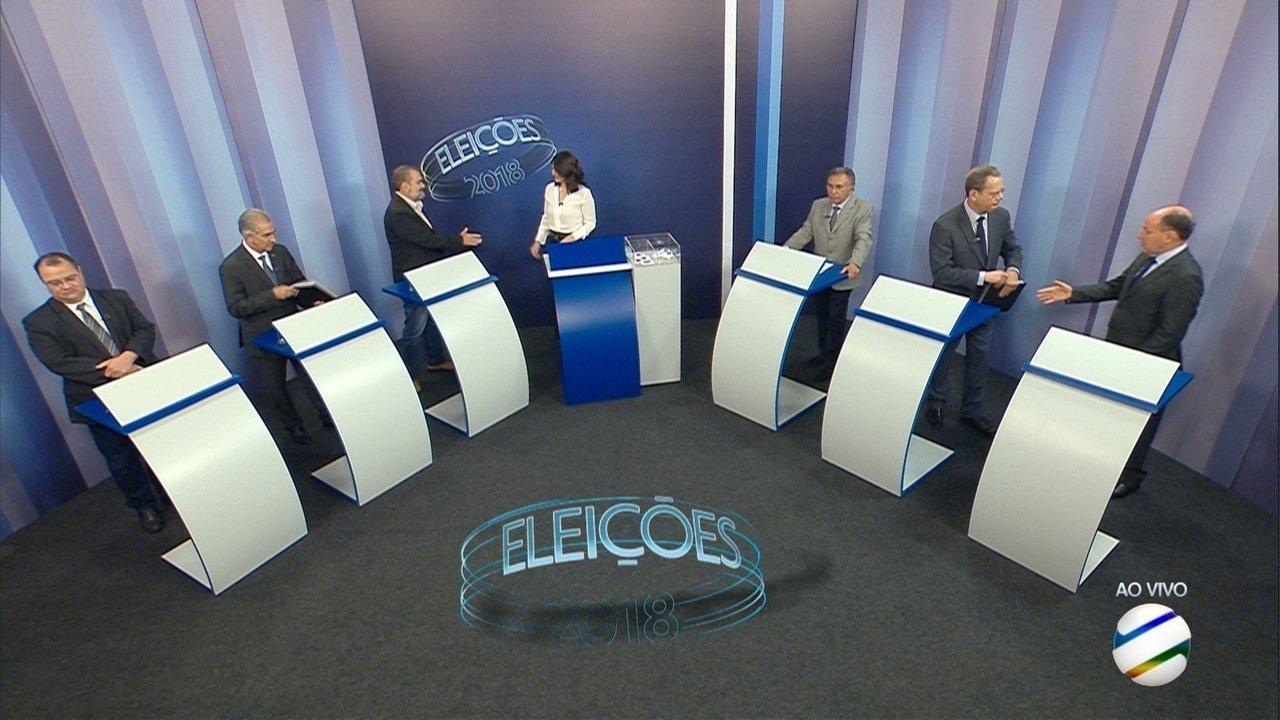 Debate para governador de Mato Grosso do Sul – 4º bloco