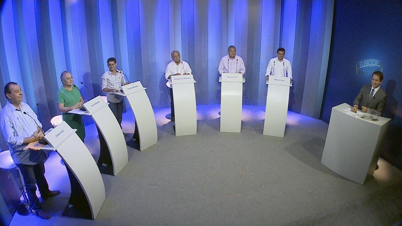 Bloco 04: Debate para governador do Amazonas