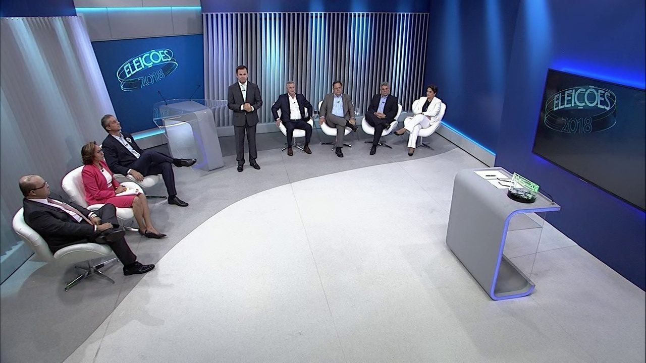 Assista à íntegra do debate dos candidatos ao governo do DF