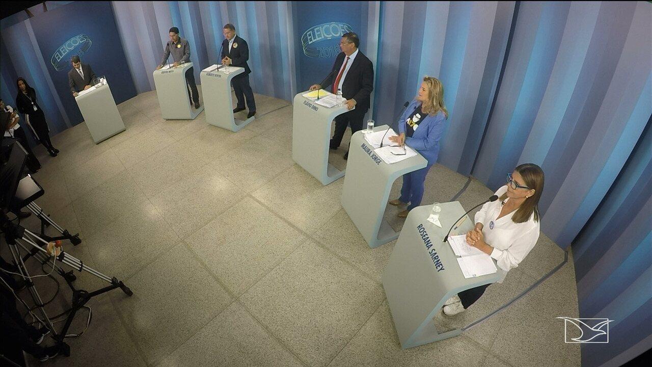Debate para governador do Maranhão