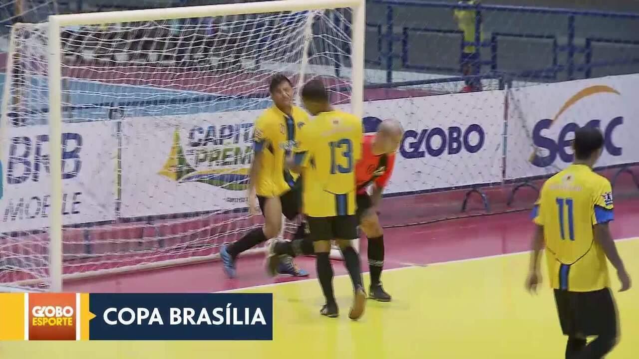 Copa Brasília de Futsal: Sobradinho e Taguatinga vencem pela primeira rodada do Grupo A