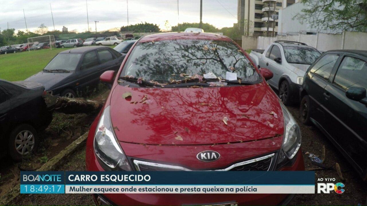 Carro deixado no centro gera história curiosa em Foz do Iguaçu