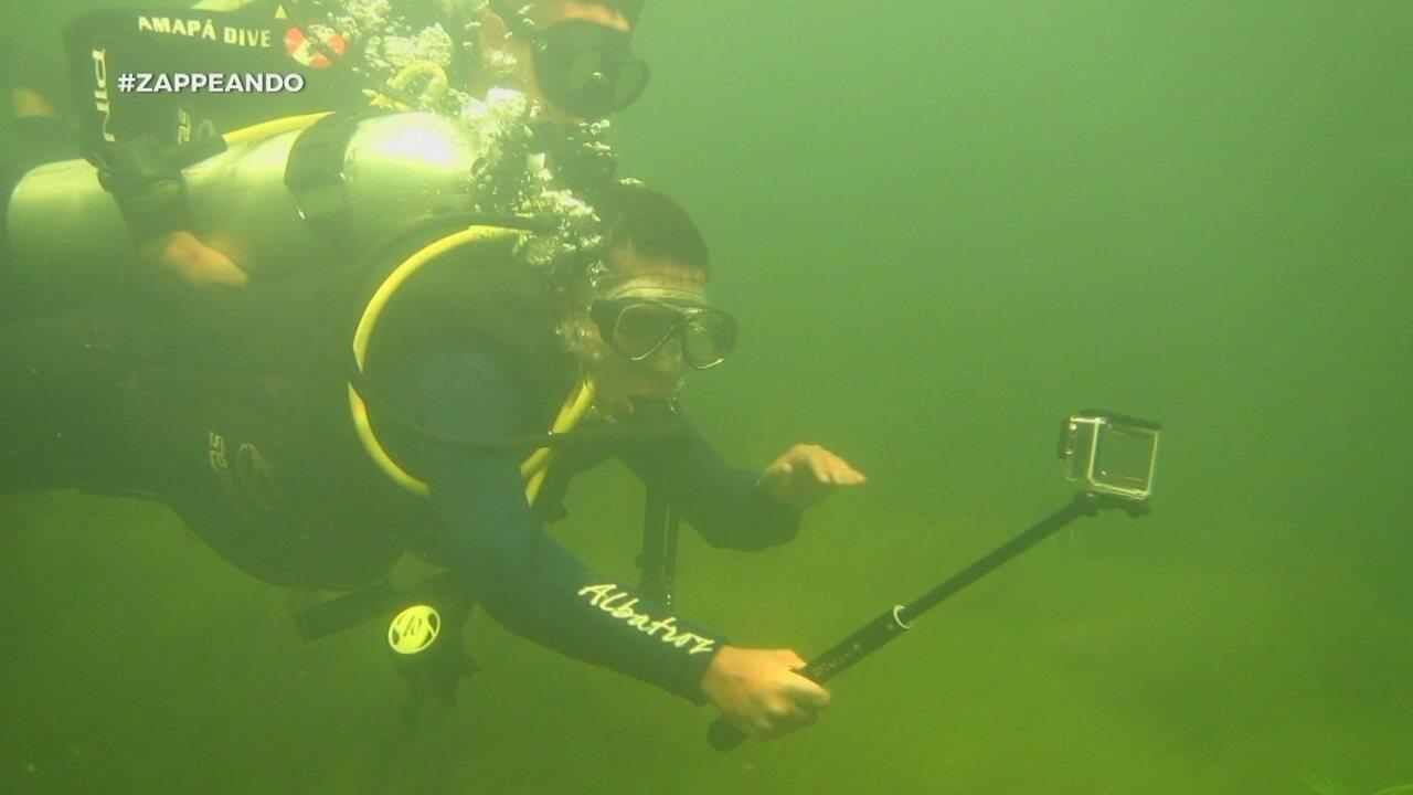 Parte 1: Equipe faz mergulho em floresta submersa, no AP