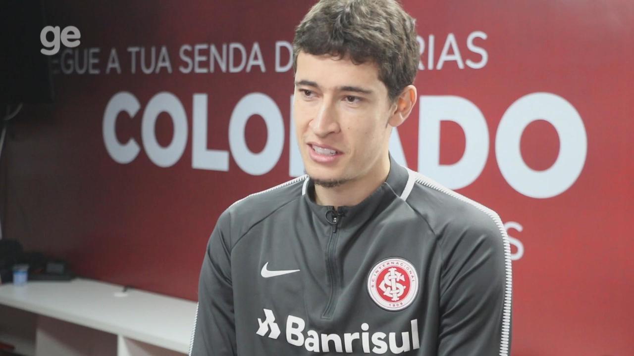 Rodrigo Dourado fala sobre momento como capitão e carreira no Internacional