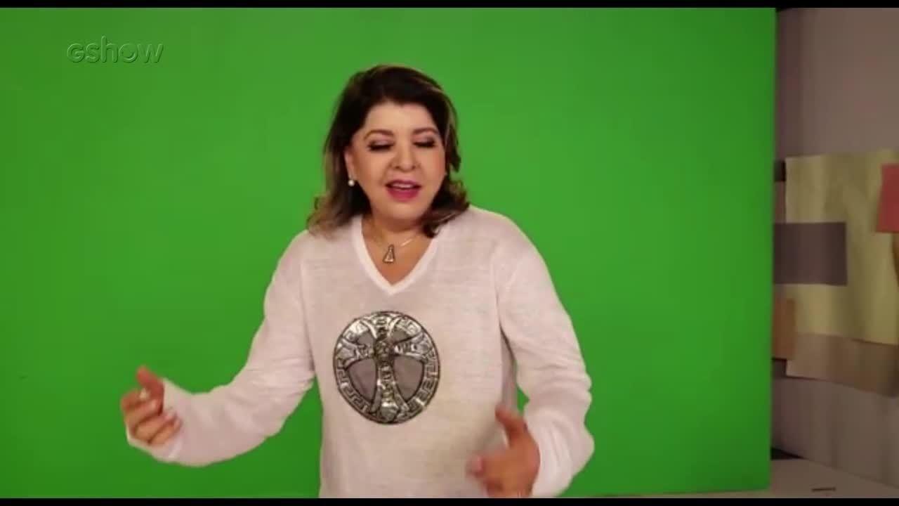 Roberta Miranda dança 'Conga, Conga, Conga' e faz homenagem a Gretchen