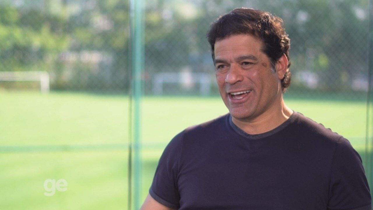 Botafogo-SP 100 anos - entrevista Raí: satisfeito com acesso do Pantera à Série B