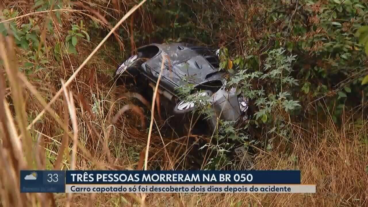 Família desaparecida é achada morta em acidente entre Uberlândia e Araguari