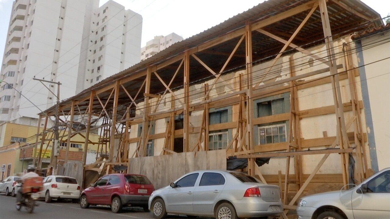 Acordo deve garantir retomada das obras de restauração de casarão histórico em Cuiabá