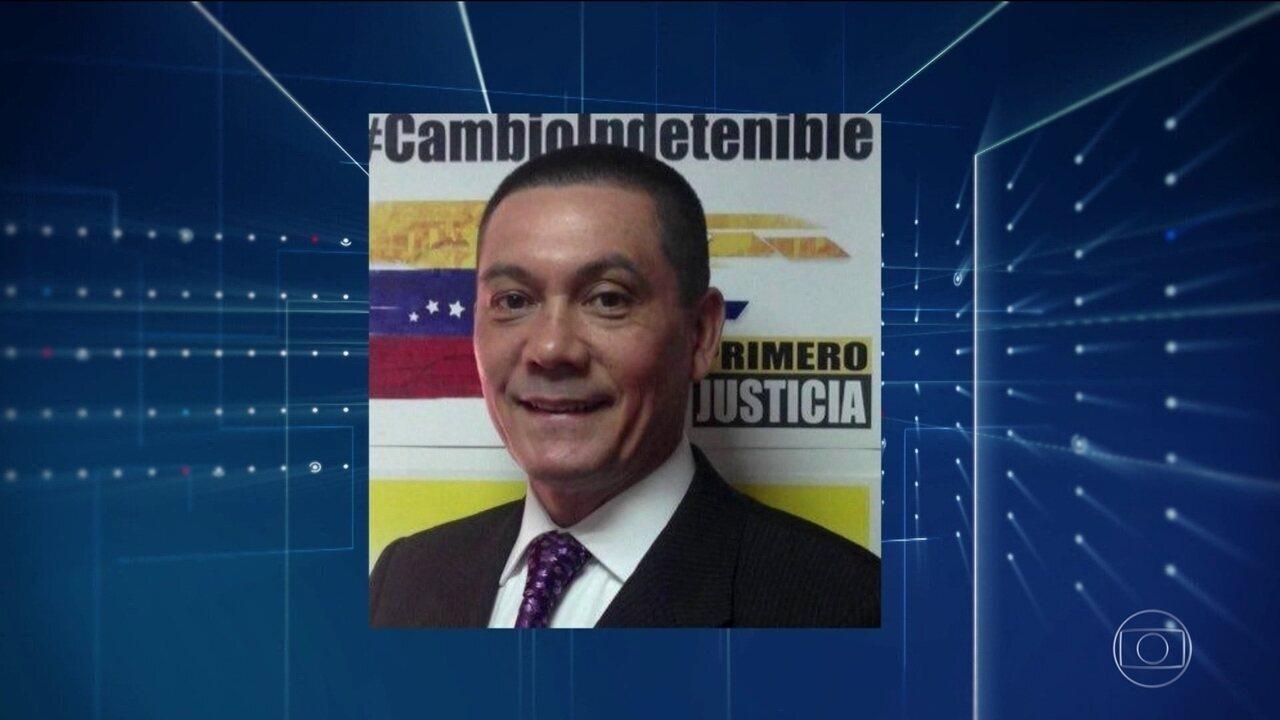 Enterrado na Venezuela corpo do vereador que governo diz que se suicidou