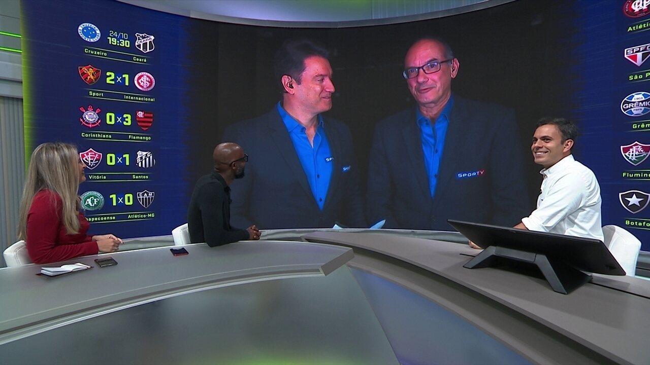 7294fb45d4 Lédio Carmona avalia empate entre Botafogo e Vasco