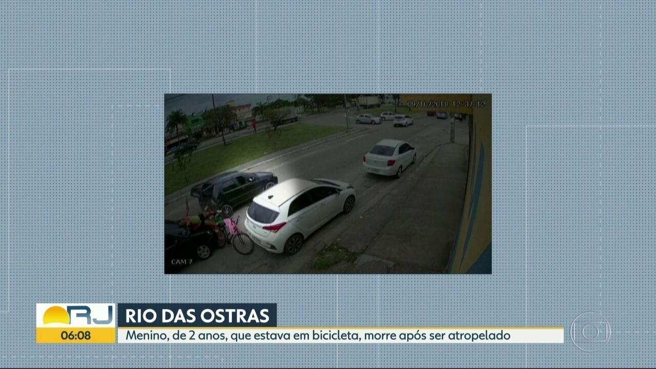 Imagens mostram o momento exato do acidente