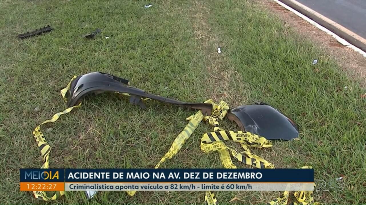 Polícia divulga laudo sobre dois acidentes fatais em Londrina