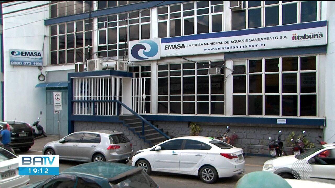 Funcionários da Emasa são afastados de cargos após operação do Ministério Público Estadual