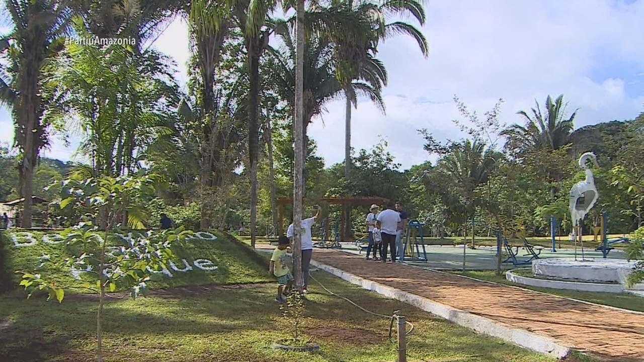 Parte 3: E ainda tem tour pelos parques de Porto Velho