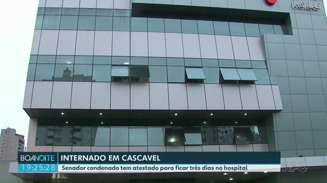 RPC tem acesso à atestado médico de senador de Rondônia