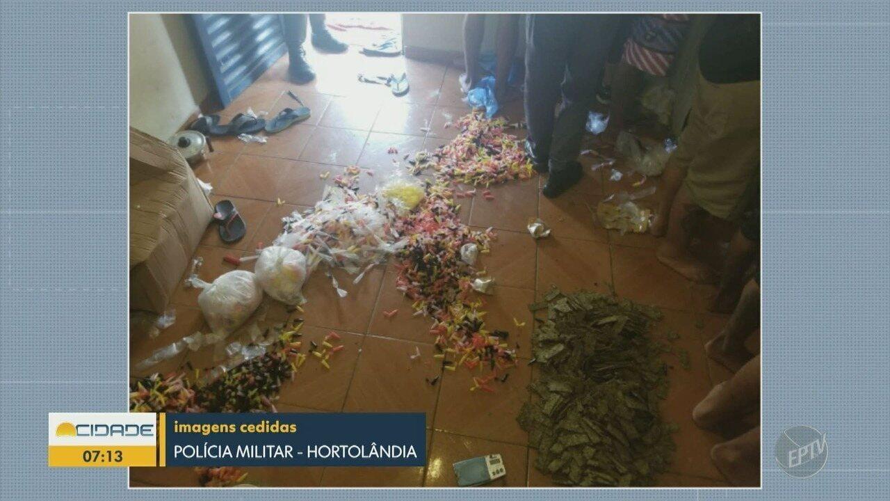 Polícia apreende drogas e faz prisões em Hortolândia