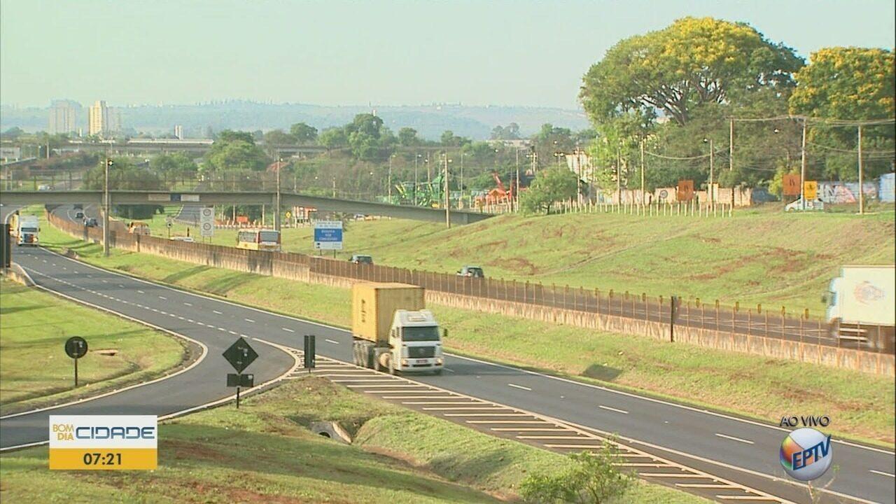Feriado da padroeira leva 300 mil veículos às rodovias na região de Ribeirão Preto