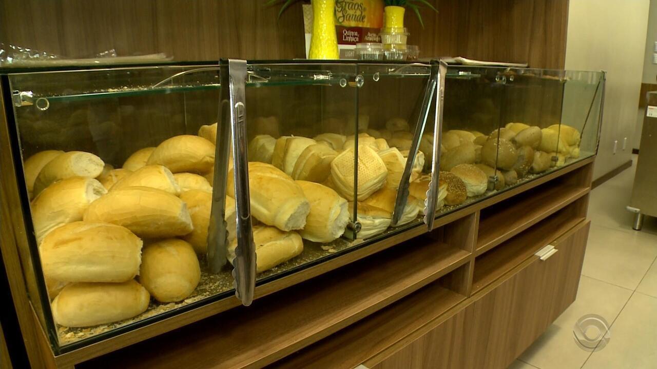 Preço do pão francês sofre aumento em supermercados e padarias gaúchas