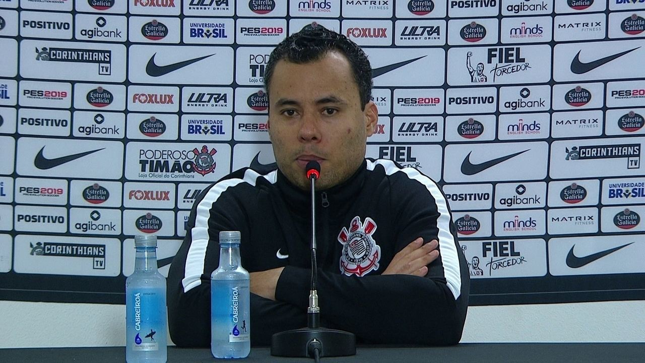 Veja trecho da entrevista do técnico Jair Ventura, do Corinthians